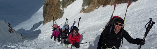 Bien s'équiper pour la pratique du ski en haute montagne