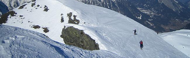 Niveaux à ski de randonnée