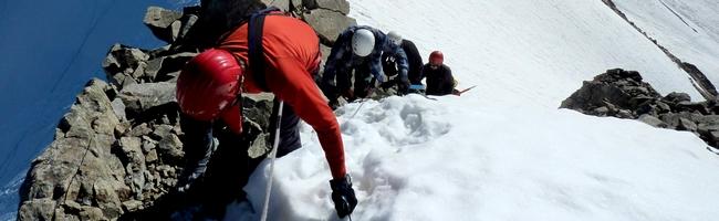 Niveaux en Alpinisme et randonnee haute montagne