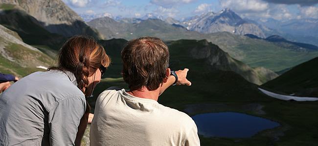 toute l'équipe des guides de haute montagne et accompagnateurs de trekalpes