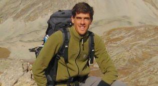 Fred PEYRE gérant de trekalpes et accompagnateur en montagne