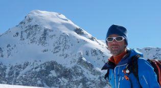 Piero est guide de haute montagne pour trekalpes