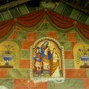 Détail du porche - Eglise de Palent