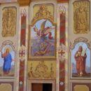 Détail de la façade de l'église de San Michele