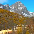 San Michele Prazzo et le monte Chersogno (3026 m)