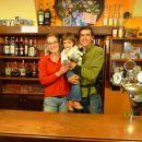 Erica qui gère le restaurant de la Tano di Grich.