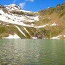 Lac  Palluel (2472 m) et Gd Pinier