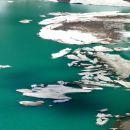 Icebergs su le lac