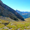 Vue sur l'Ubaye - Col de Serenne (2674 m)