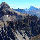 Pic de Panestrel (3254 m) et Viso au fond
