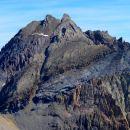 Pic Sud (3371 m) et Nord (3385 m) de la Font Sancte