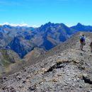 Crête entre les Mortices Nord et Sud - (3155 m)