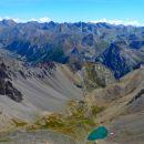 Lac Bleu et haute vallée de l'Ubaye