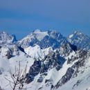 Les Ecrins (4102 m) depuis le Bucher