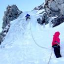 Cascade de glace à Prali Val Germanasca