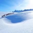 rando panoramique sur le plateau Emparis - Vue sur la Meije