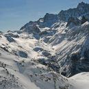 Vue sur la Haute Ubaye depuis le Col Tronchet