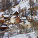 Le hameau de l'Echalp et le gîte 7 degrés EST
