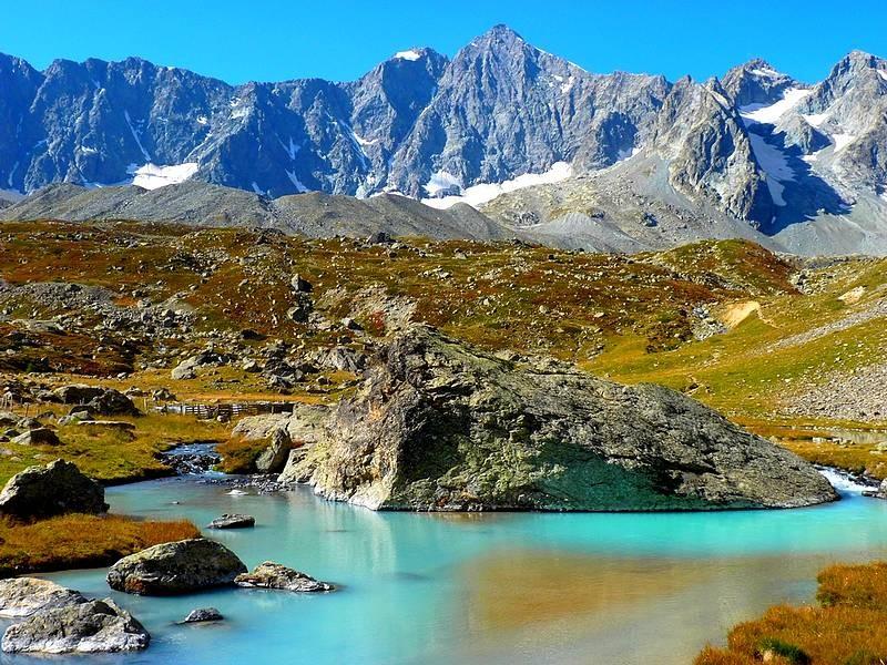Lac du Glacier d'Arsine (Ecrins)