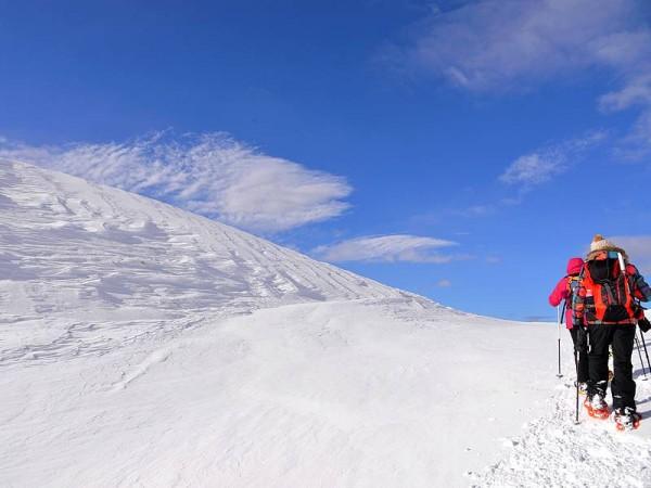 Tour du Queyras à raquettes à neige