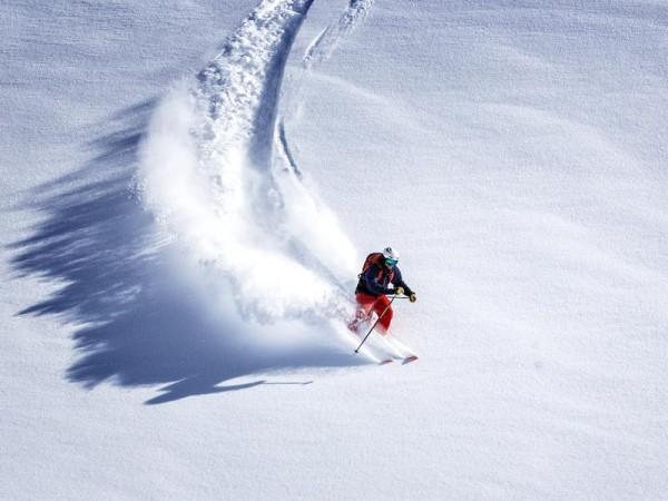 Poudreuse de cinéma - Hors-Piste Free-Ride - Alpes du Sud