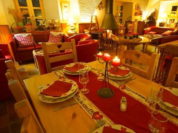 Salon Salle à Manger de l'Auberge Camp de Base  (Non Contractuel) - Hors-Piste Free-Ride - Alpes du Sud