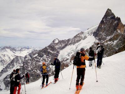 Haute Montagne à la Meije - Hors-Piste Free-Ride - Alpes du Sud