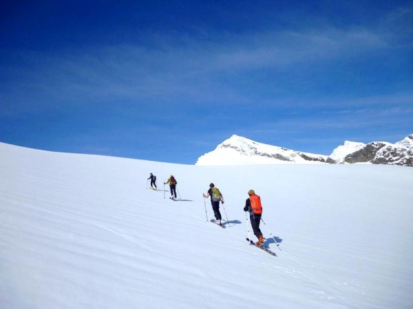 grand paradis 4061 m à ski