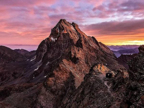 Mont-Viso vu depuis le Nord
