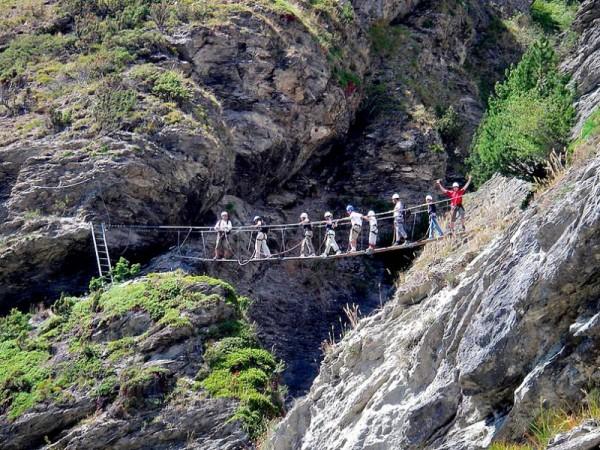 Via Ferrata - Multi-Activités Familles Hautes-Alpes sur le Guil