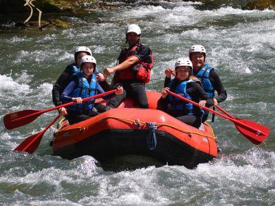 Rafting sur le Guil - Multi-Activités Familles Hautes-Alpes
