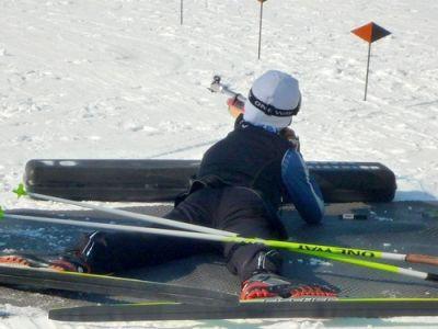 Biathlon (Ski de Fond + Tir à la Carabine) Raquettes - Multi-activité Famille dans les Hautes-Alpes