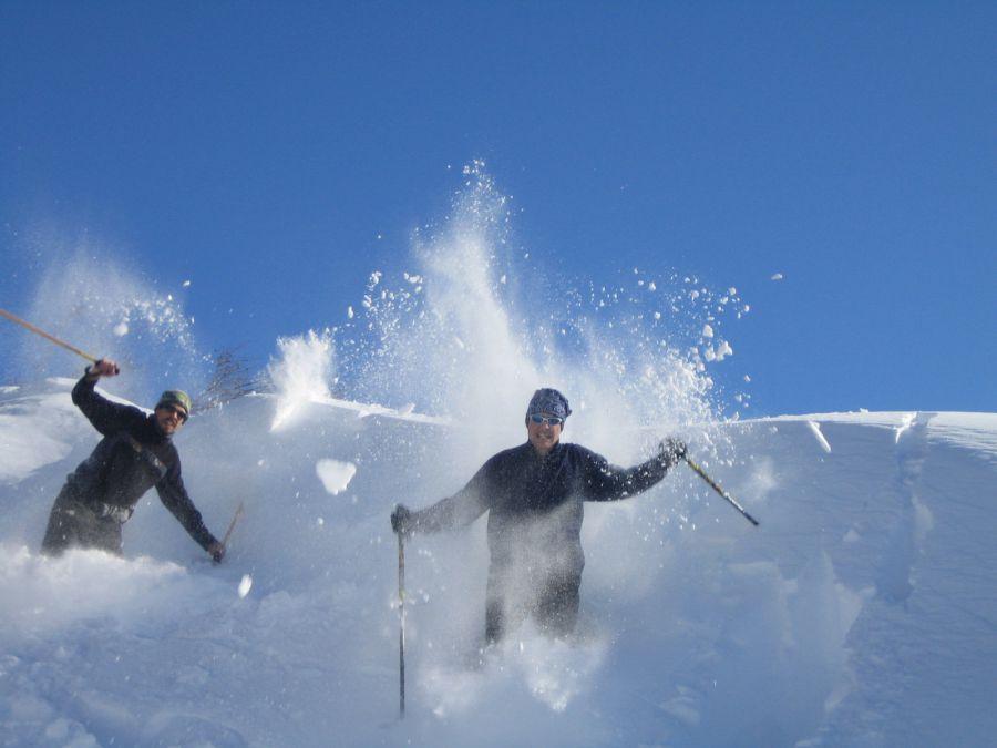 Vacances insolites a la neige