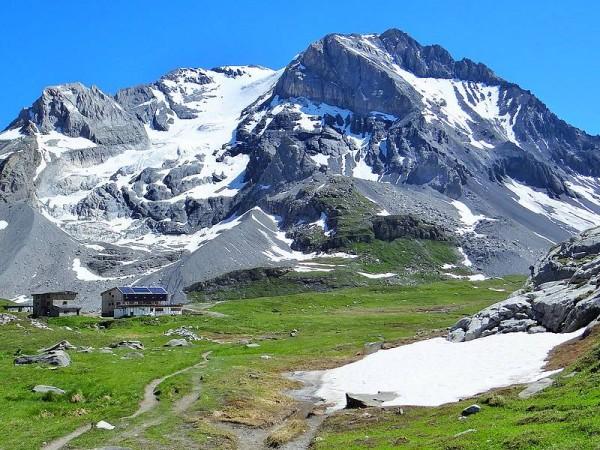 Refuge du Col de la Vanoise et Glacier de la Grande Casse