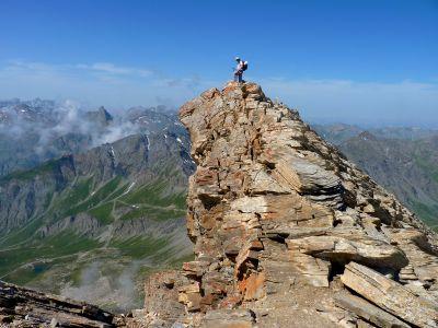 Sommet du Pain de Sucre (3200 m) - Trek des 3000 du Queyras (GR58)
