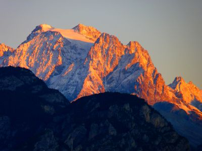 Mont Pelvoux (Ecrins)