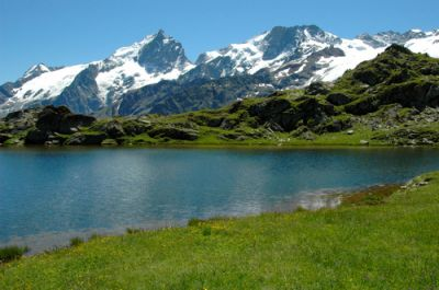 lac Noir et la Meije