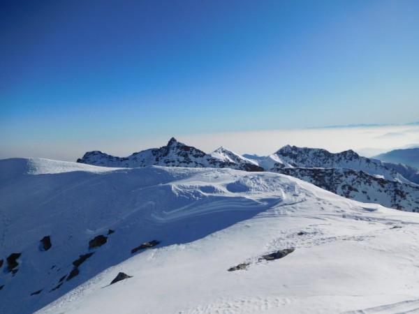 Panorama à 360° sur l'Arc Alpin en Hiver