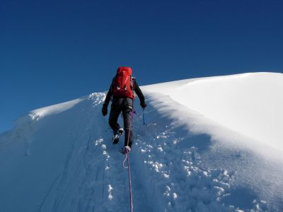 Photo Initiation Alpinisme Hivernal
