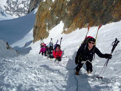 Photo Traversée de la Meije à ski alpinisme