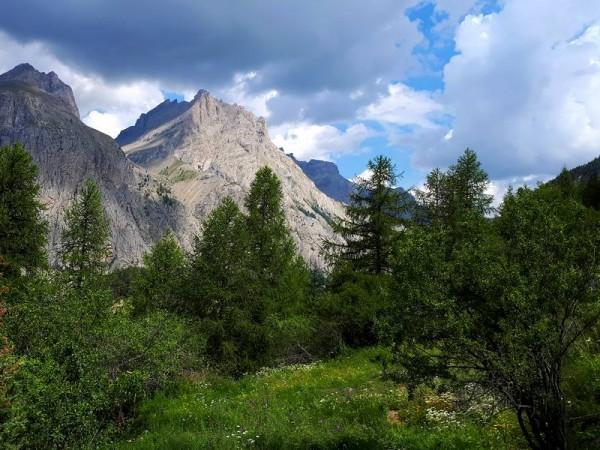 Montagnes Haute Ubaye aux alentours de Fouillouse