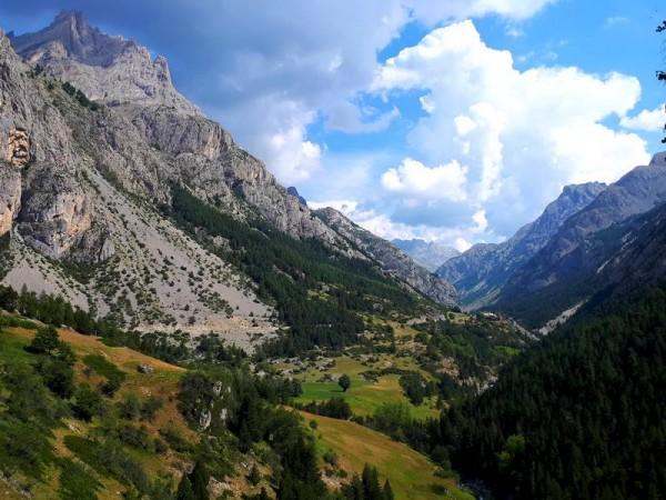 Vallée de la Haute Ubaye vers Fouillouse