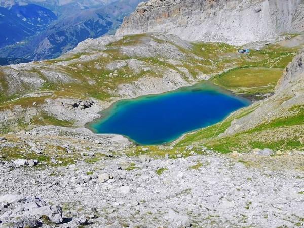 lac et refuge du Chambeyron - Tour de la Haute Ubaye