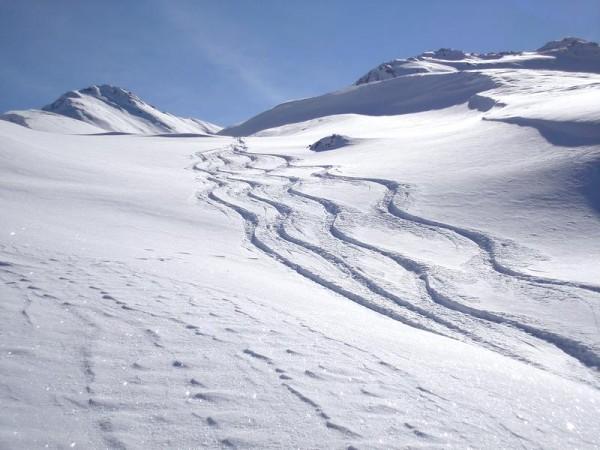 Refuge Agnel à ski de randonnée en Queyras
