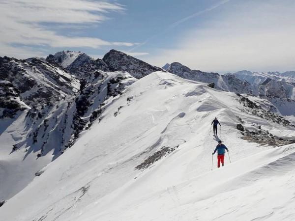 Ski en Crête Queyras