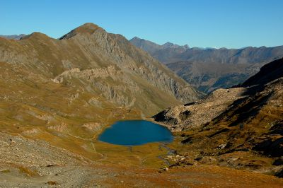 Lac Foréant en septembre - Queyras