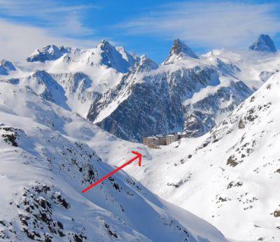 L'Hospice du Col du Grand Saint-Bernard - ski et spa en val d'Aoste