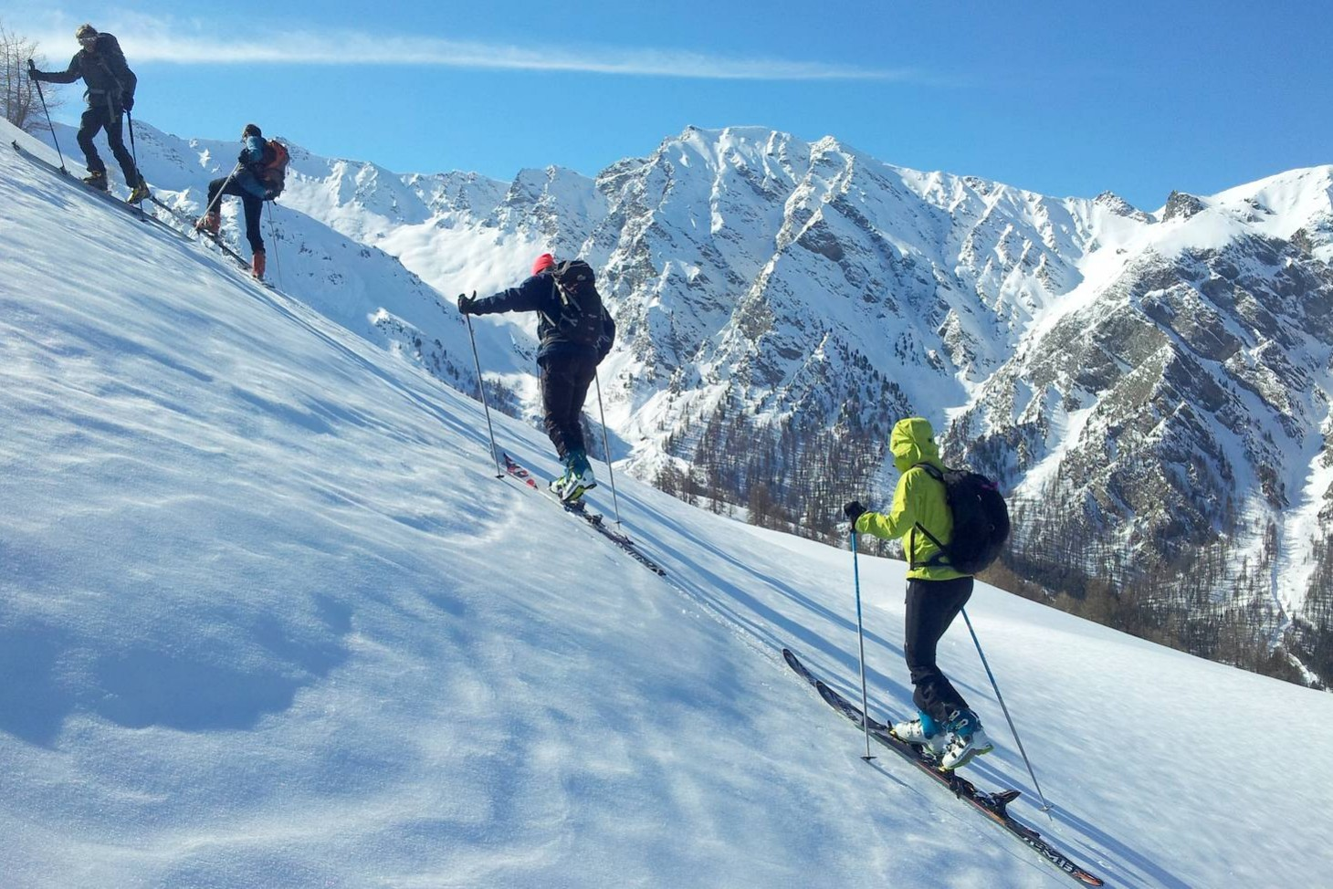 Initiation au ski de rando à St-Véran