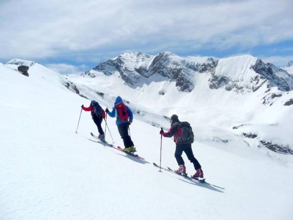 Montée au Pic de Caramantran (3000 m)