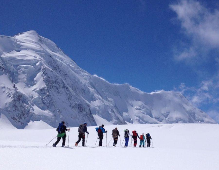 Oberland - plus vastes glaciers Européens